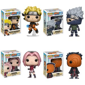 Pop! Animation: Naruto Shippuden - Complete Set