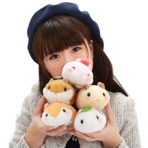 Coroham Coron Manmaru Friends Hamster Plush Collection (Ball Chain)
