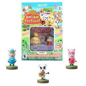 Gaming / Game Accessories / Animal Crossing: amiibo Festival (Wii U) w/ Free Animal Crossing amiibo 3-Pack