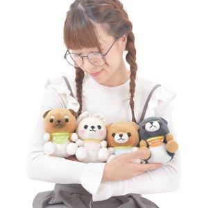 Mameshiba San Kyodai Puppy Dog Plush Collection (Standard)