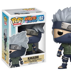 Toys & Knick-Knacks / Soft Vinyl Figures / Pop! Animation: Naruto Shippuden - Kakashi