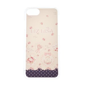 LIZ LISA Sweet Plates Pattern iPhone Case