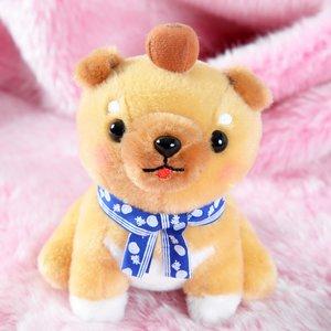 Mameshiba San Kyodai Tabi no Tochu Dog Plush Collection (Standard)