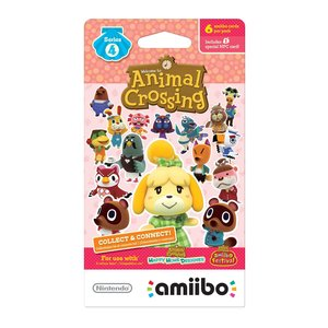 Gaming / Game Accessories / Animal Crossing amiibo Cards Series 4 (6-Pack)