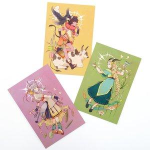 Mononoke Girl Postcards