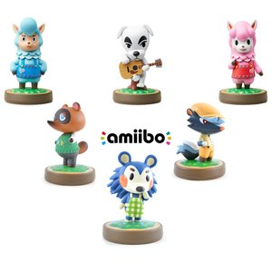 Gaming / Game Accessories / Animal Crossing amiibo 3-Pack w/ 3 Free Animal Crossing amiibo (Option B)