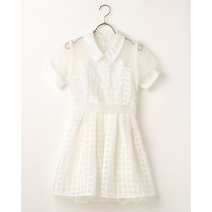 LIZ LISA Collared Heart Dress