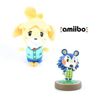 "Gaming / Game Accessories / Animal Crossing Isabelle 8"" Plushie w/ Free Mabel amiibo"