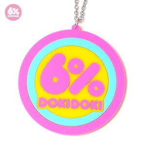 6%DOKIDOKI Logo Necklace