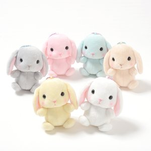 Pote Usa Loppy Rabbit Plush Collection (Ball Chain)