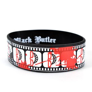 Otaku Apparel & Cosplay / Other Accessories / Black Butler Grell Cinematic Record Wristband