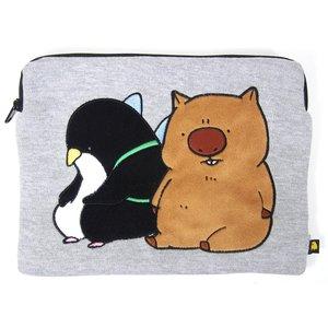Home & Kitchen / Pouches & Other Cases / Wombat-san Futari wa Kimazui Wombat-san & Fairy-san Pouch
