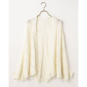 LIZ LISA Marguerite Daisy Lace Loose Cardigan