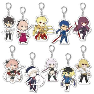 Pikuriru! Fate/Grand Order Trading Acrylic Keychain Charms Vol. 2 Box Set
