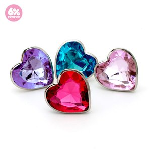6%DOKIDOKI Jewel Heart Ring
