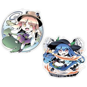 Touhou Project Creator's Keychain Charm Collection: Asakura Ver.