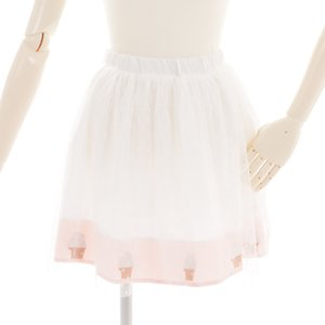milklim White Ice Cream Skirt