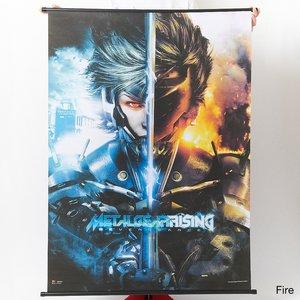 Art Prints / Tapestries / Metal Gear Rising: Revengeance Raiden Wall Scrolls