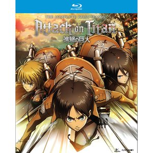 Attack on Titan: The Complete First Season Blu-ray