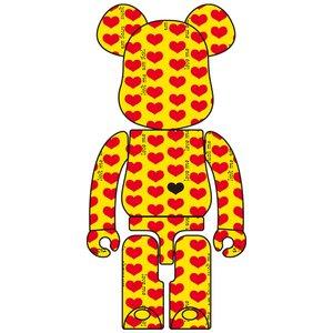 BE@RBRICK Yellow Heart 1000%