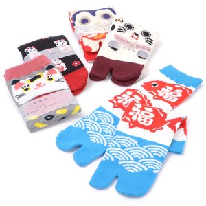 Home & Kitchen / Roomwear & Sleepwear / J-Fashion / Socks & Tights / Nagomi Modern Women's Tabi Socks