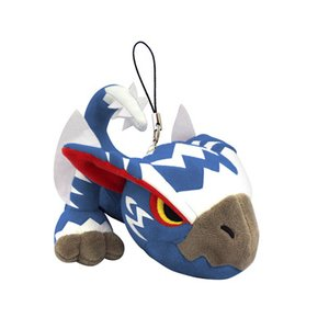 Monster Hunter Silverwind Nargacuga Mini Mascot Plush