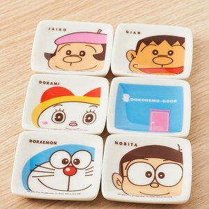 Home & Kitchen / Dishware / Doraemon 8-Piece Small Plate Set