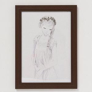 """Single Braid"" Pen & Ink Original Art"