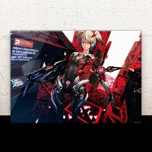 "TGS 2013 Live Painting ""K2C4FFPS"" Acrylic Art Panel"