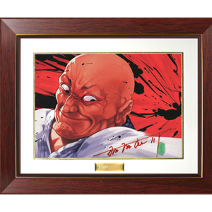 Baki the Grappler Chara Fine Graph Print Series - Doppo Orochi