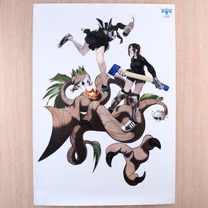 """Tokiya Sakba's """"Lumberjack Crisis"""" Poster"""