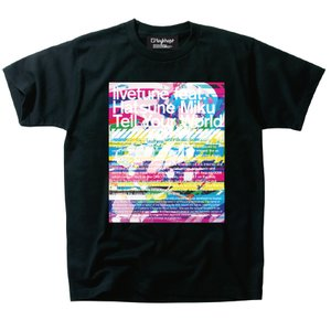 "Otaku Apparel & Cosplay / Tops / livetune feat. Hatsune Miku - Tell Your World ""Glitch"" T-Shirt"