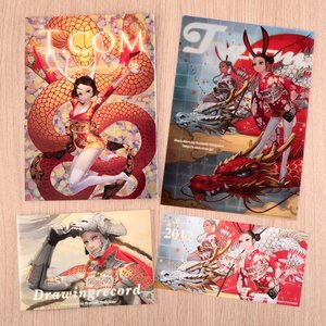 T.com Toshiaki Takayama Illustration File Vol. 6