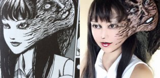 ART / Horror Manga Comes to Life with… Makeup!