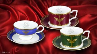 "More Treasures to Behold! Gundam x Noritake Collaboration ""Zabi Family Teacups Part 2"""