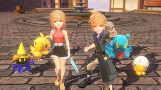 "GAME / ""World of Final Fantasy"" Newest Trailer Posted; Live Demo Held During Jump Festa"
