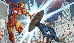 MANGA / Fairy Tail Creator Draws for Captain America: Civil War