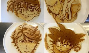 ART / Step Aside Latte Art - It's Pancake Time!
