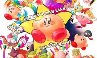 GAME / Celebrating 24 Years of Kirby!