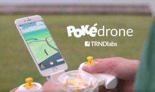 GAME / Pokédrone Hopes to Help You Catch 'Em All