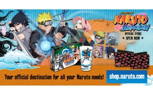 "VIZ Media Partners with Generator to Launch Official ""Naruto"" Online Store"