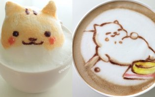 These Cat Latte Art Remind Us Why Cat Latte Art is Such a Great Idea