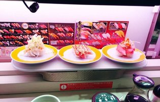 JAPAN / Eat the Future with Automated Sushi