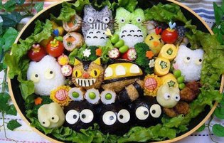 These Studio Ghibli Bento Are Too Cute to Eat!