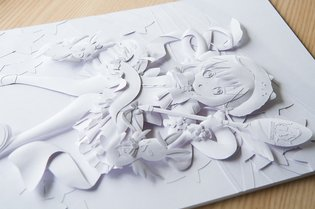 Paper Sculptor Tatsuya Takahashi Reveals His Production Process!
