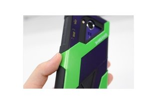 Hotly Anticipated Evangelion Smartphone - Take an Advance Look at the Wallpapers and Sound Effects