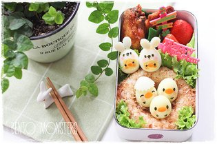 JAPAN / Easter Feasts Can't Get More Kawaii Than This! [Bento Monsters Showcase]