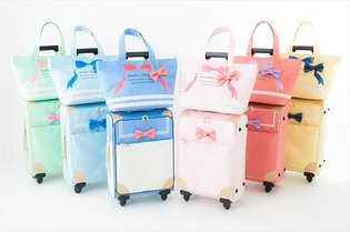"PRODUCT / Convenient for Travelling too! Cute ""Sailor Moon"" Trolley Bags Released"