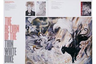 "EVENT / Yoshitaka Amano Draws David Bowie; Art Exhibit ""The Evolving Fantasy"" Confirmed"