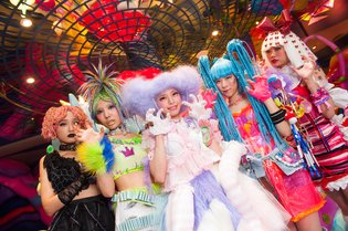 A cafe where you can experience the latest in Harajuku pop culture has opened - the Kawaii Monster Cafe.